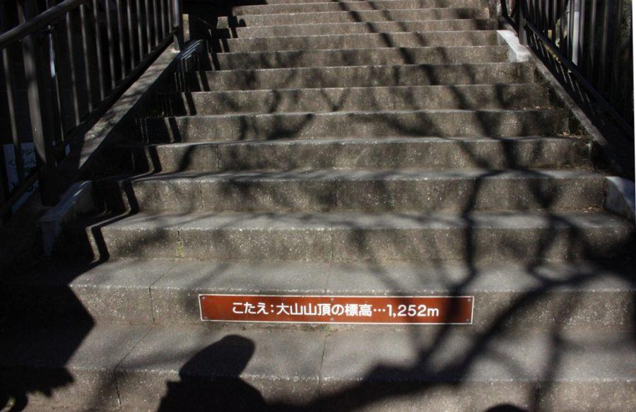 参道の階段のクイズ