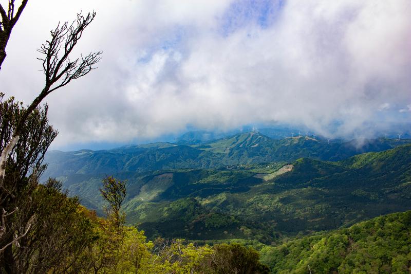 万二郎岳からの眺め