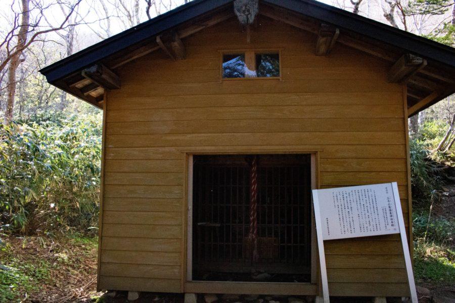 三斗小屋温泉神社本殿