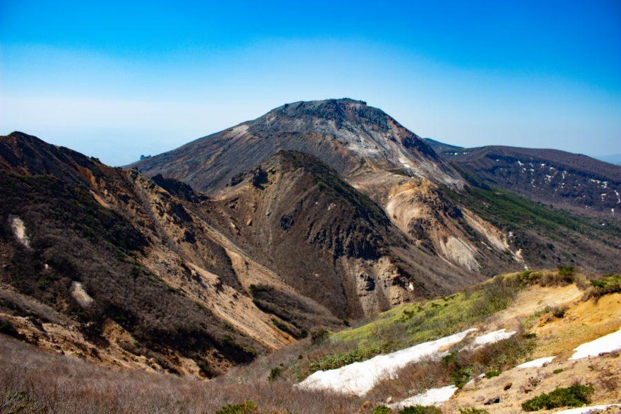 峰の茶屋が見える風景