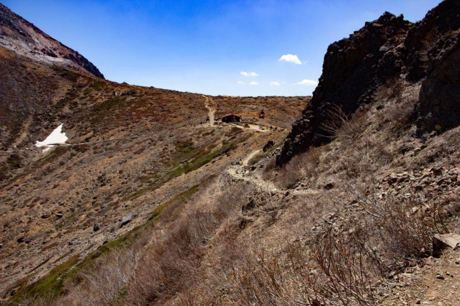 山道の様子