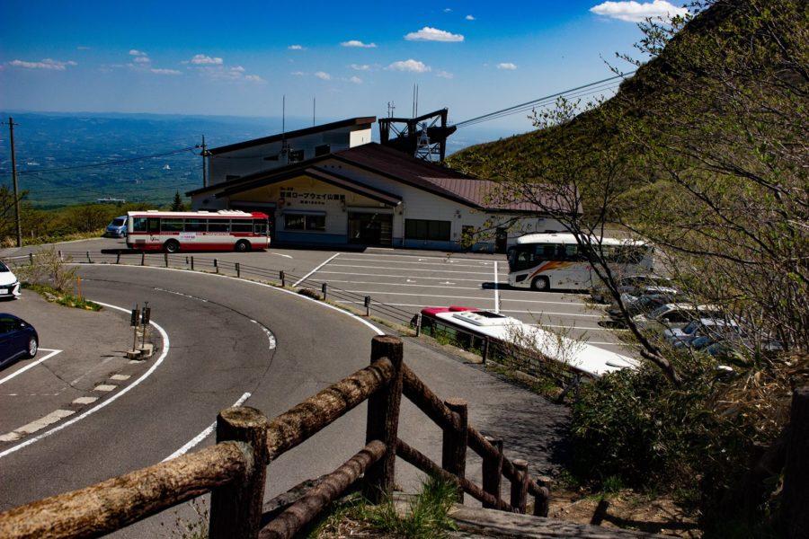 山麓駅の写真