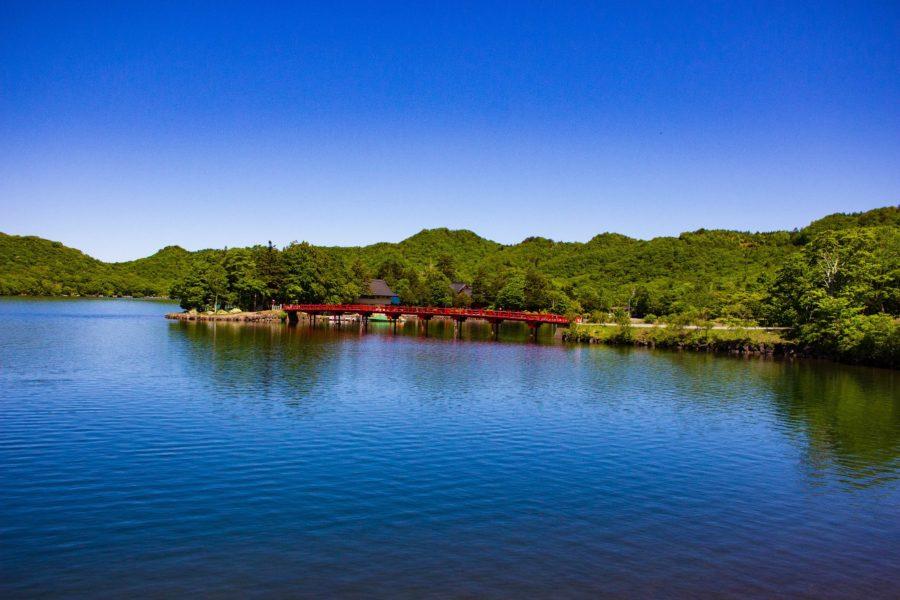 湖上の啄木鳥橋