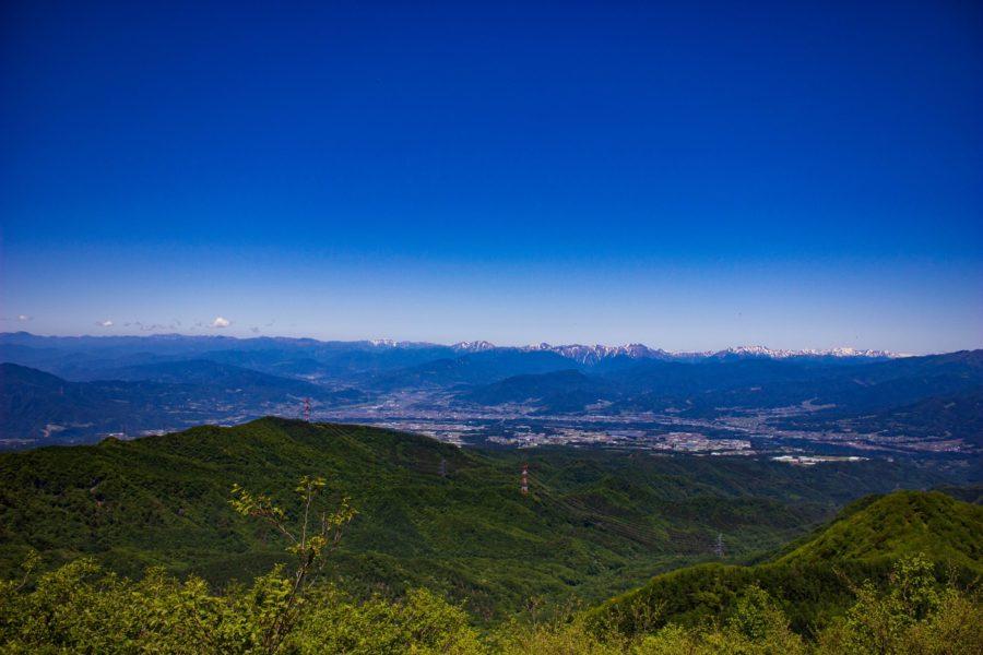 絶景ポイントからの眺め