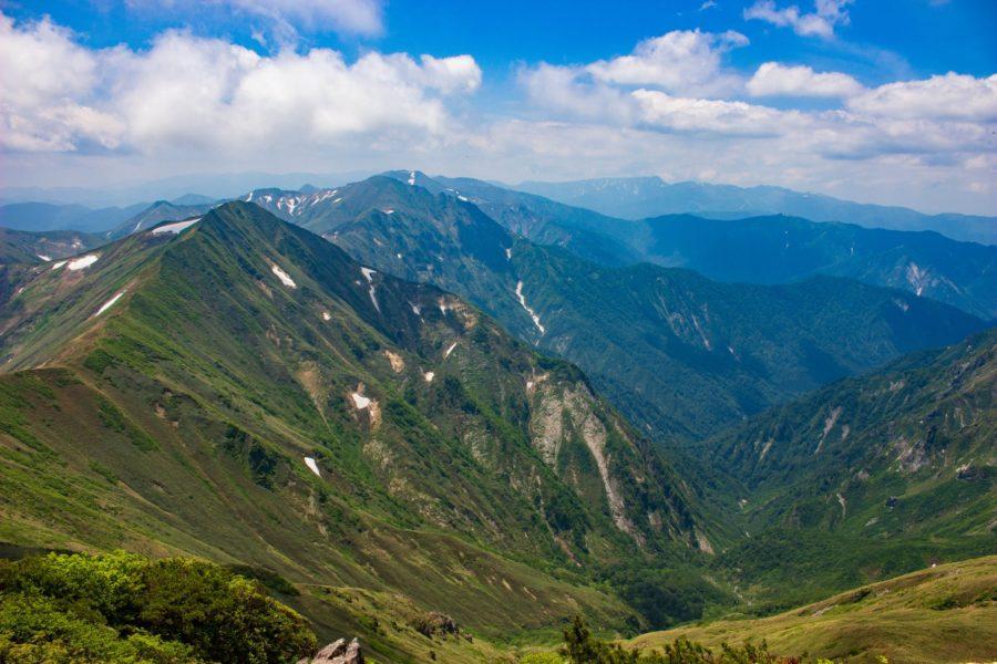 稜線からの景色その2