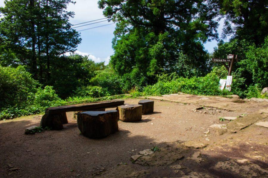 弁慶茶屋跡の様子